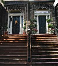 Savannah Historical Twin Homes