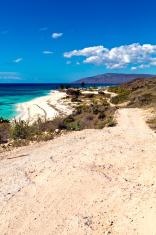 Haiti, Nord-Ouest, coastline and Caribbean Sea.