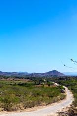 Haiti, Nord-Ouest, coast road.