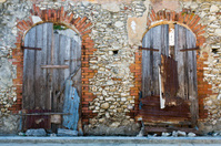 Haiti, Nord, Le Borgne, French-period warehouse.