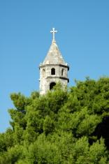 Bell Tower, Cavtat, Croatia.