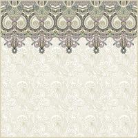 ornate floral pattern set