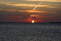Crimson Sunrise over the Red Sea