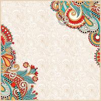 ornate floral pattern