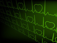 Abstract heart beats cardiogram. EPS 8