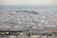 Basilique Du Sacre Coeur, Paris skyline