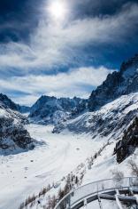 """""""Mer de glace"""" glacier - """"Sea of Ice"""", Chamo"""
