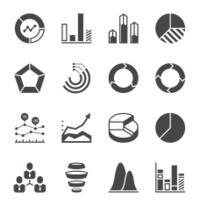 Chart & Graph Icon Set | Unique Series