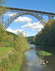 Muengsten Railway Bridge,Solingen,Germany