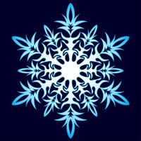 _СНЕЖИНКИ 23722743-decorative-abstract-snowflake