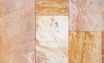 Granite tiles.