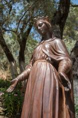 Statue of the Virgin Mary. Ephesus, Turkey