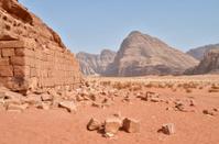 Wadi Rum Ruins - Jordan