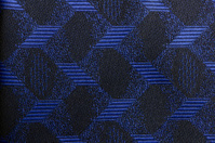 Blue and black fabric background