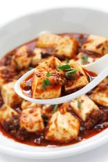mapo tofu, sichuan style