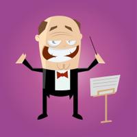 funny cartoon conductor