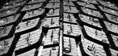 Winter tire detail