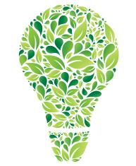 Green Floral idea