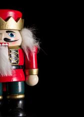 Christmas nutcracker background