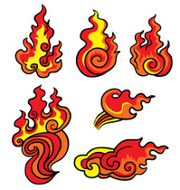 fire flames for tattoo