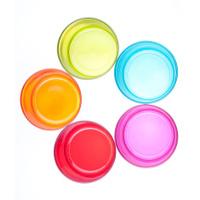Five Multicolored Glasses