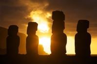 Easter Island Moai Sunrise/Sunset