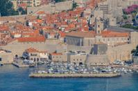 Harbour in Dubrovnik, Croatia