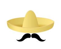 Sombrero hat vector