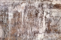 Background texture of weathered white exterior wall