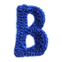 letter of knit alphabet
