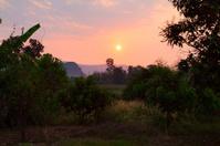 Sunrise in northern Thailand
