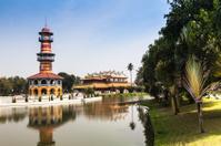 Landscape Bang Pa In Palace