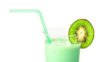 Kiwi milk shake