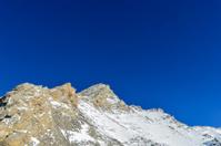 Alpine mountain peak