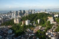 aerial view of Rio de Janeiro downtown Brazil
