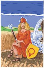 TAROT CARD. THE EMPRESS