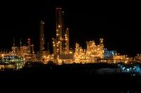 Industrial factory  Night