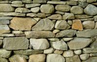 stone wall close up