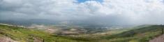 High resolution panorama of Galilee