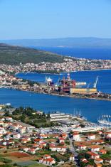 Trogir seaport