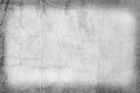 Grey wall background with a frame.