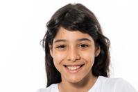 Hispanic little girl
