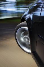 Sports Car Front Brake Speed.