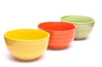 Coloured bowls