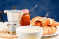coffe and milk - italian breakfast
