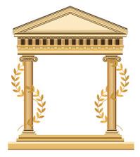 Antique Greek Temple