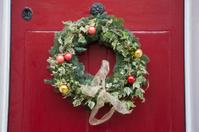 Christmas Reef on Door