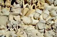 stone figures in Bali