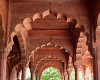 Red Brick Archways and columns