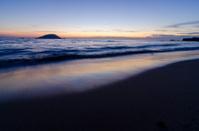 sea of evening glow